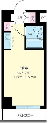パーク・ノヴア横浜・弐番館 の間取り