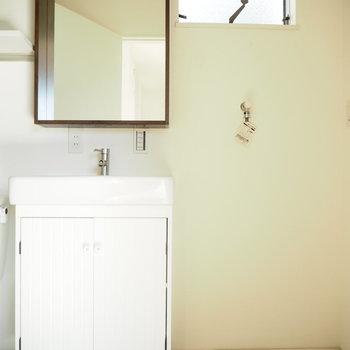 洗面台もかわいいな〜※写真は前回募集時のものです