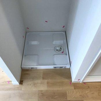 洗濯機置場は居室内にあります※写真は前回募集時のもの