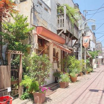 【周辺環境】物件まではのどかな住宅街