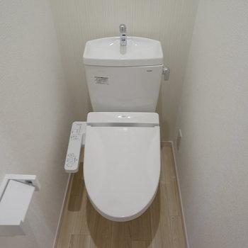 トイレはウォシュレット付き〇