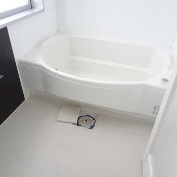 お風呂はゆったりと入れます。※写真は別室です