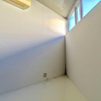 まずは3階から!とんがってる※写真はクリーニング前です