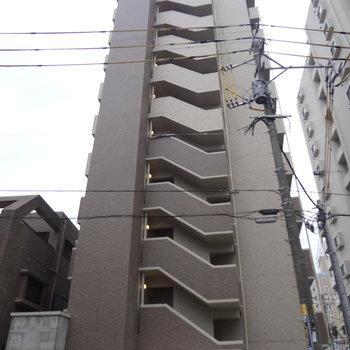 2月完成の新築マンションです。