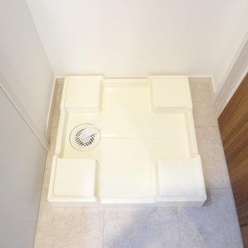 洗濯パンも室内にしっかりあります。※写真は別室です。
