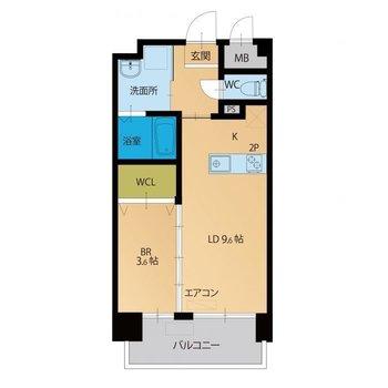 四角い間取りは家具の配置がしやすい!