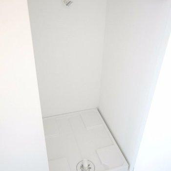 洗濯機置場は隠せます※写真は別部屋です