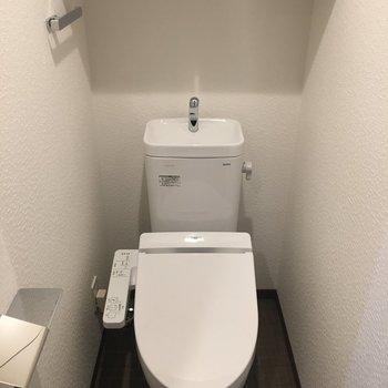 トイレはウォシュレットあり!