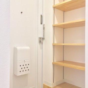 真っ白のドアがカワイイ〜※写真は前回募集時のものです