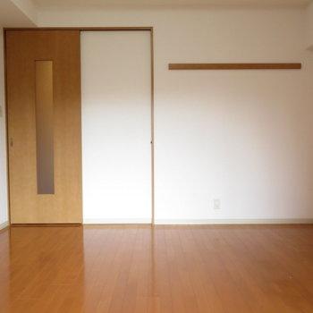 広さも十分に※写真は4階の同間取り別部屋のものです