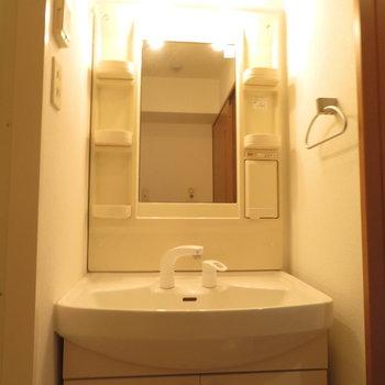 収納もばっちり※写真は4階の同間取り別部屋のものです