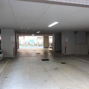 駐車場もありました!