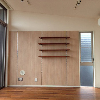 ちょっとした棚が嬉しい※画像は同じ間取りの別室です