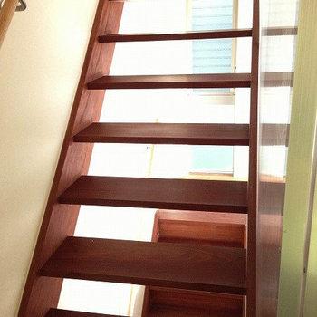 階段もいい感じです※画像は同じ間取りの別室です