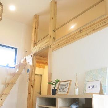 天井の高さ3メートル!(※家具はイメージ)