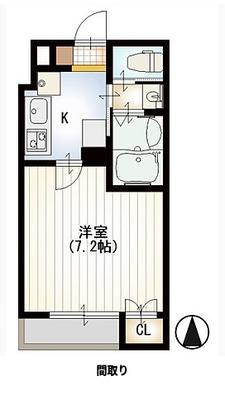 雪月花と日本家屋 の間取り
