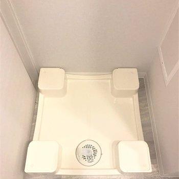 洗濯機はもちろん室内!(※写真は別部屋、同間取りのもの)