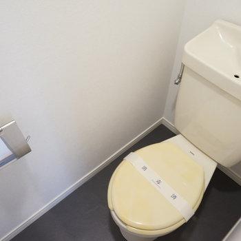 トイレは既存ですが綺麗に!