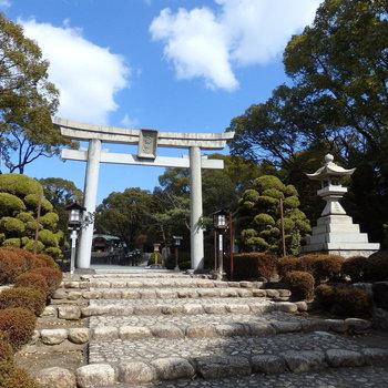 立派な鳴海神社!行ったらきっと気に入ると思います!
