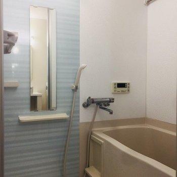 お風呂まで壁のデザインが良い!