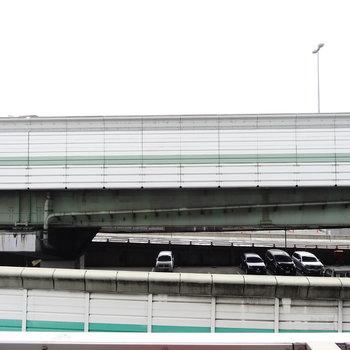 眺望はガッツリ高速道路※写真は前回掲載時のものです。