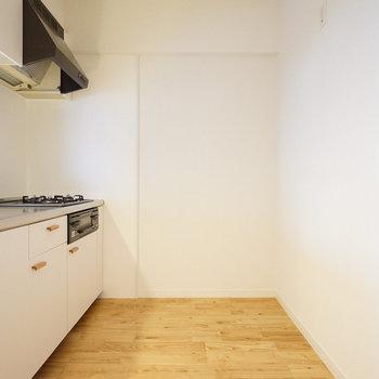 ゆったりした対面キッチン!