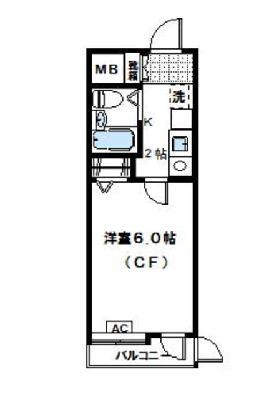 ダイアパレスステーションプラザ武蔵新城 の間取り