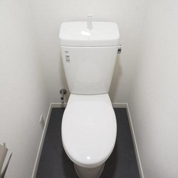 トイレも新品に!