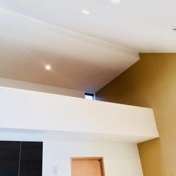 天井たかいよ〜きもちい部屋だ!