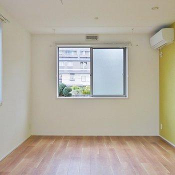 日当たりもよくお部屋も広々。※写真は、前回撮影時のもの