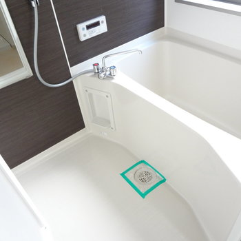 お風呂も広め。ここが一番日当たりいいかも。笑