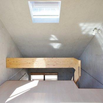 二階コンパクトですがベッドスペースは確保※写真は同間取りの別部屋です。