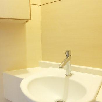 お客様用にしっかり手洗い場付