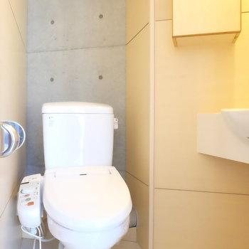 トイレは1階部分に!