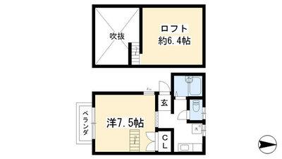 SNOOPY HOUSE NISHIWAKI の間取り