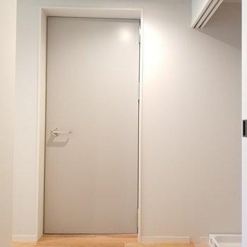 防音室も見てみましょう。※写真は4階の同間取り別部屋のものです