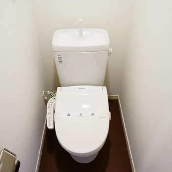 トイレは新品に※写真はイメージです
