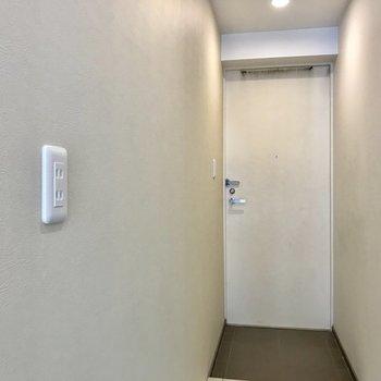 玄関付近この高さにコンセントがあるの珍しい…間接照明などに。※写真は前回募集時のものです