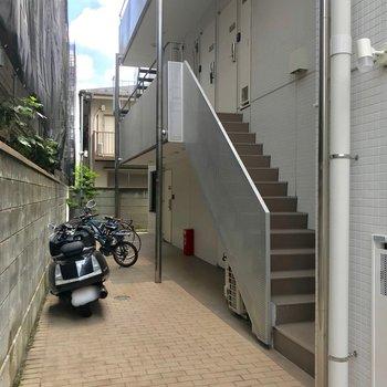 駐輪場も◯