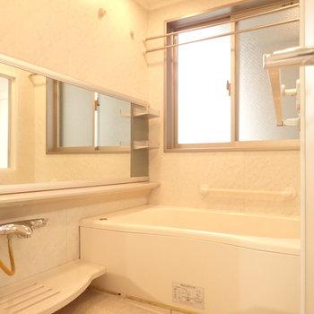 浴室、広いんです!
