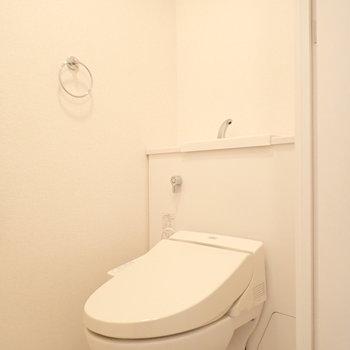 スマートなトイレです。