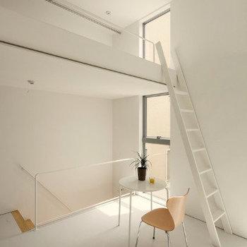内装がひとつのインテリアのよう※写真は別部屋です。