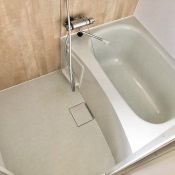 洗い場スペースも確保されていますよ。