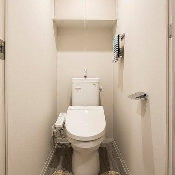 トイレはウォシュレット。※写真は別部屋イメージ。