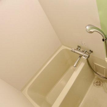 浴室乾燥機つき!※写真は13階の同間取り別部屋のものです