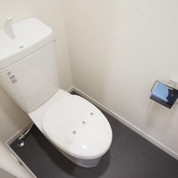トイレも新設!