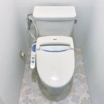トイレの床にもご注目