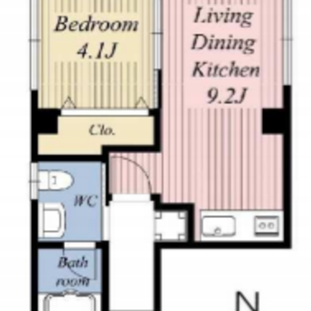 1フロアに1部屋だけなんです!