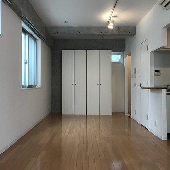 反対側からの景色※写真は3階の同間取り別部屋のものです