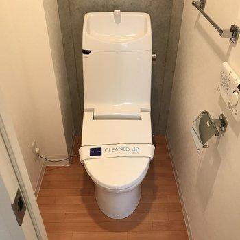 トイレがコンパクト※写真は3階の同間取り別部屋のものです